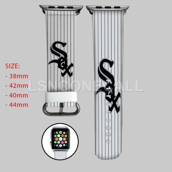 Chicago White Sox MLB Apple Watch Band