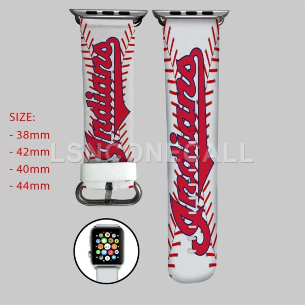 Cleveland Indians MLB Apple Watch Band