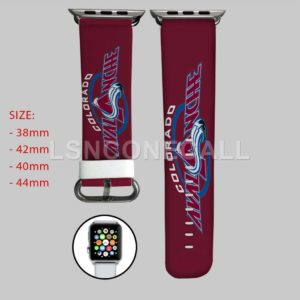 Colorado Avalanche NHL Apple Watch Band