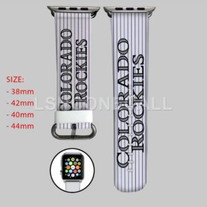 Colorado Rockies MLB Apple Watch Band