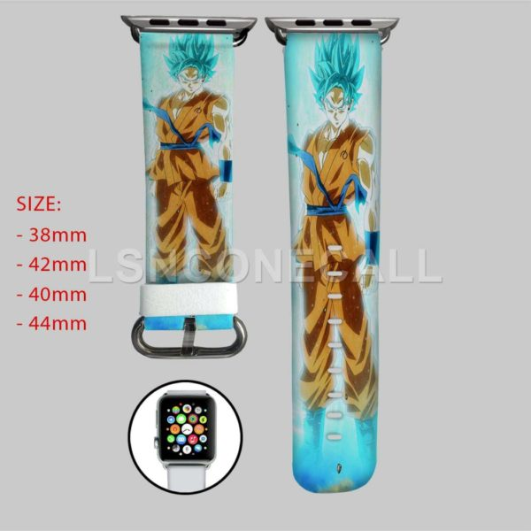 DBZ Goku Super Saiyan Blue Apple Watch Band