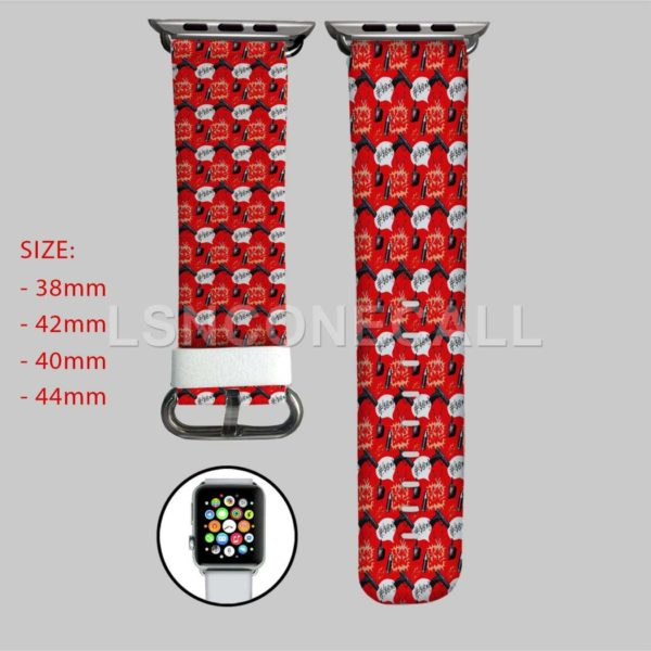 Deadpool Bang Bang Apple Watch Band