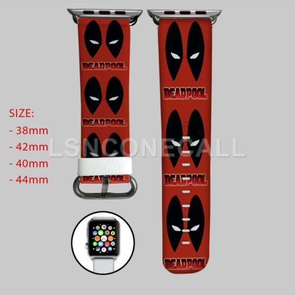 Deadpool Face Apple Watch Band
