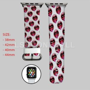 Deadpool Face Marvel Apple Watch Band
