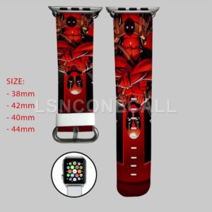 Deadpool Marvel Apple Watch Band
