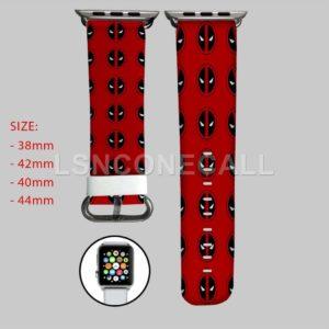 Deadpool Marvel Superheroes Apple Watch Band