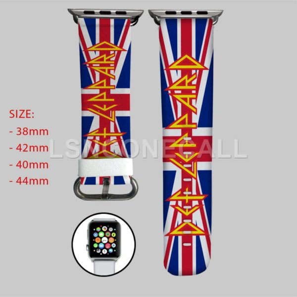 Def Leppard on Target Apple Watch Band