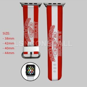 Detroit Red Wings NHL Apple Watch Band