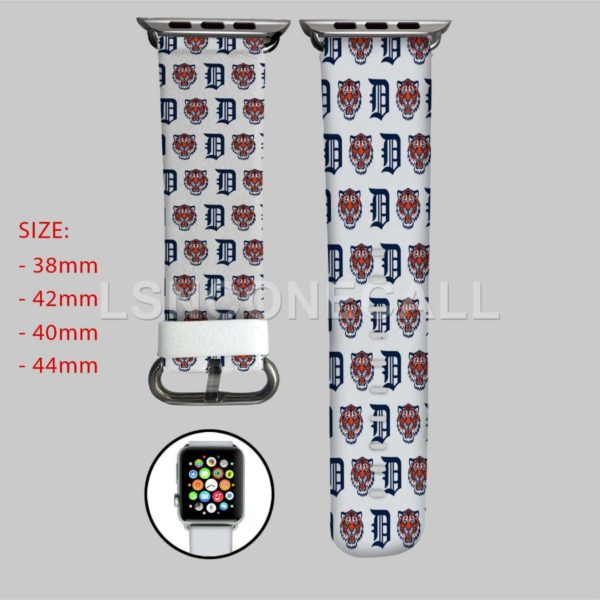 Detroit Tigers MLB Apple Watch Band
