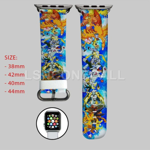 Digimon Adventure TriApple Watch Band