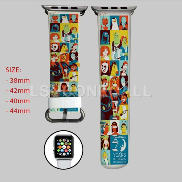 Disney Dreamworks All Characters Apple Watch Band