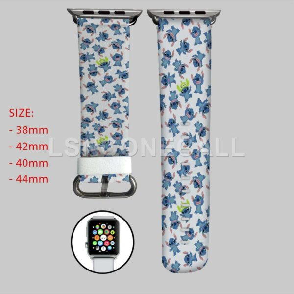 Disney Stitch Apple Watch Band