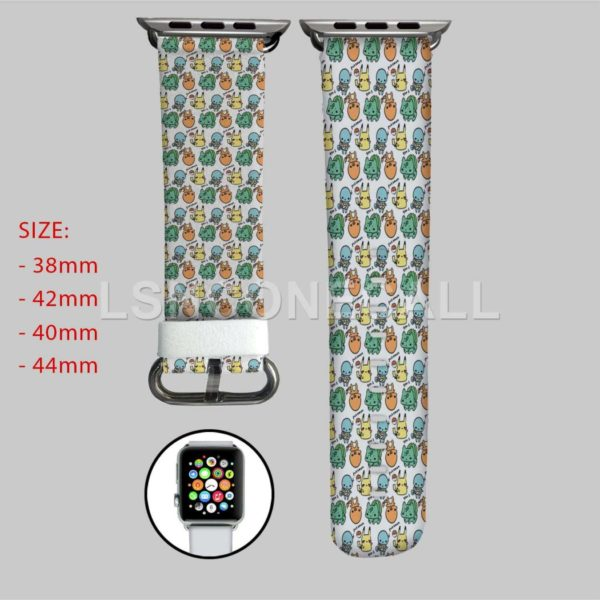 Gen 1 Pokemon Apple Watch Band