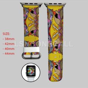 Homero Simpsons Apple Watch Band