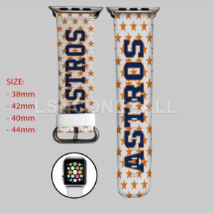 Houston Astros MLB Apple Watch Band