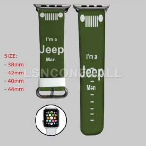 I'm a Jeep Man Apple Watch Band