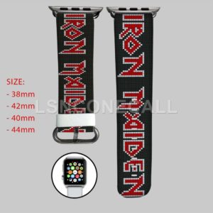 Iron Maiden Apple Watch Band