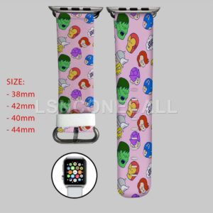Iron Man Captain America Hulk Thor Apple Watch Band