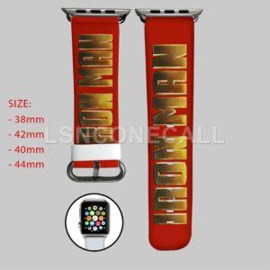 Iron Man Marvel Apple Watch Band
