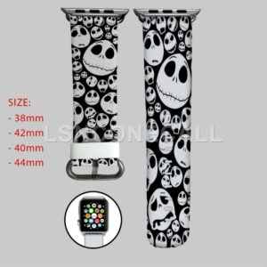 Jack Skellington Face Apple Watch Band