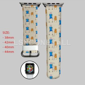 Jake and Finn Adventure Time Apple Watch Band