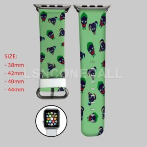 Joker and Harley Quinn Suicide Squad Apple Watch Band
