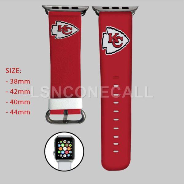 Kansas City Chiefs Apple Watch Band