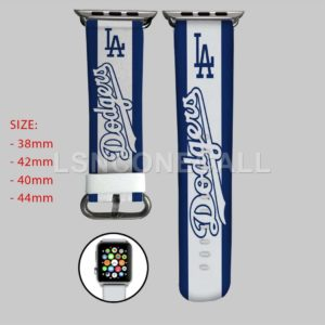 Los Angeles Dodgers MLB Apple Watch Band