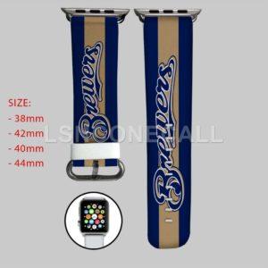 Milwaukee Brewers MLB Apple Watch Band