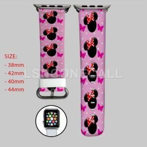 Minnie Mouse Disney Apple Watch Band