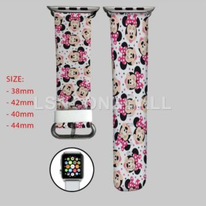 Minnie Mouse Love Disney Apple Watch Band