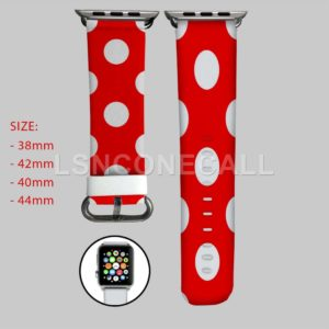 Minnie Mouse Polka Dot Apple Watch Band