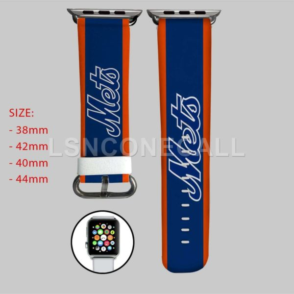 New York Mets MLB Apple Watch Band