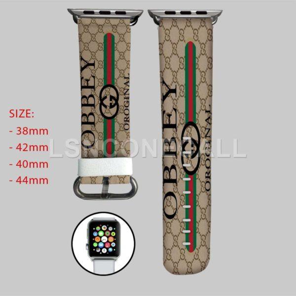 Obey Gucci Original Apple Watch Band
