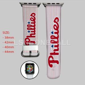 Philadelphia Phillies MLB Apple Watch Band