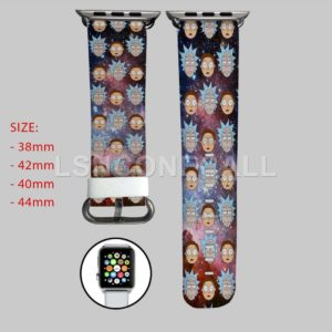 Rick and Morty Galaxy Apple Watch Band