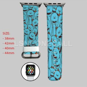 Rick and Morty Mr Meeseeks Apple Watch Band