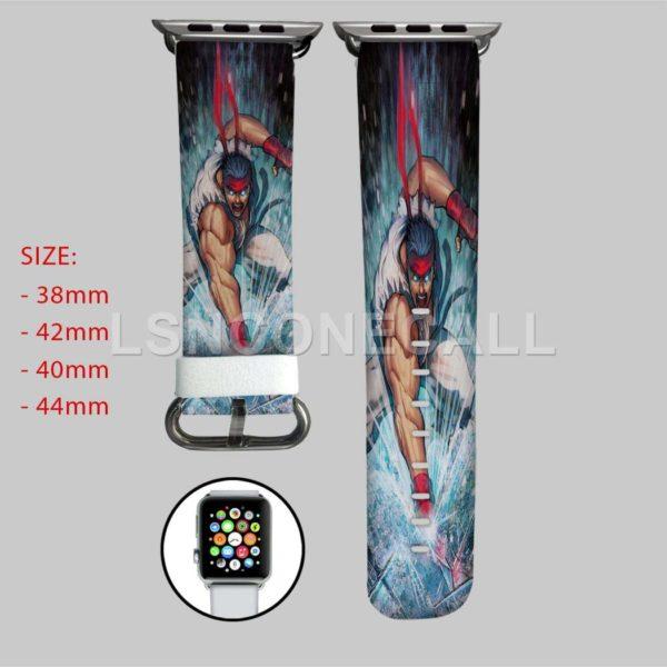 Ryu Street FIghter Apple Watch Band