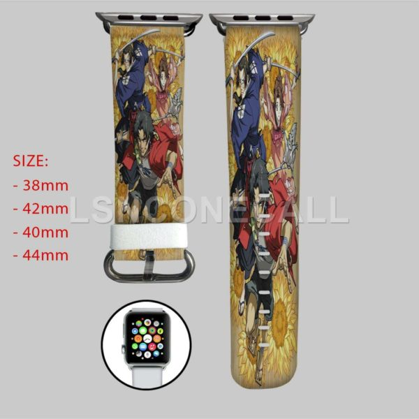 Samurai Champloo With Sword Apple Watch Band