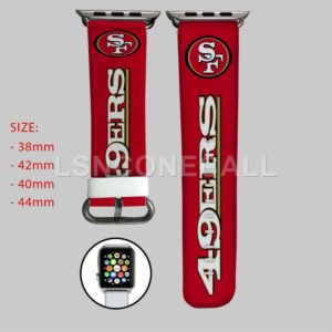 San Francisco 49ers Apple Watch Band