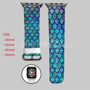 Scales Mermaid Disney Apple Watch Band
