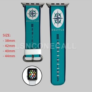 Seattle Mariners MLB Apple Watch Band