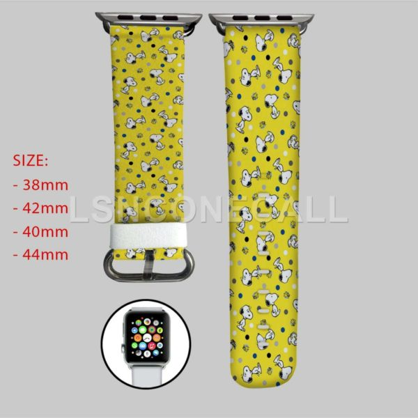 Snoopy The Peanuts Apple Watch Band