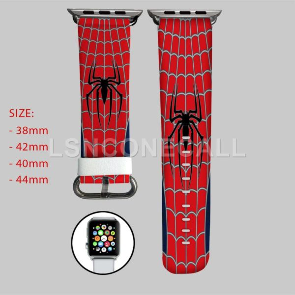 Spiderman Marvel Superheroes Apple Watch Band