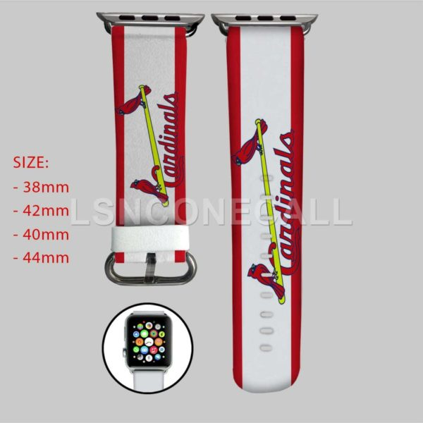 St Louis Cardinals MLB Apple Watch Band