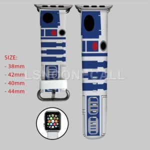 Star Wars Droid R2D2 Apple Watch Band