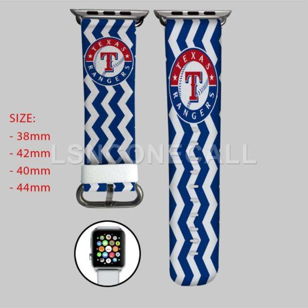 Texas Rangers MLB Apple Watch Band