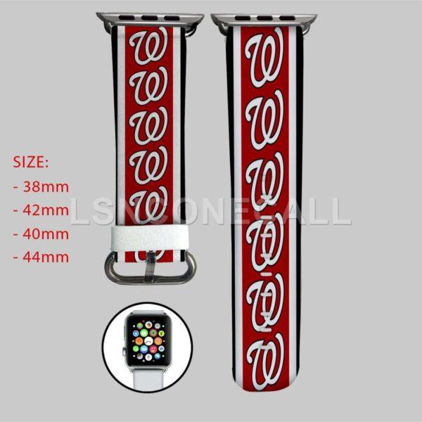 Washington Nationals MLB Apple Watch Band