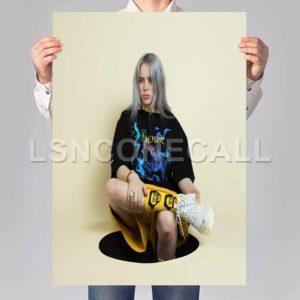 Billie Eilish Poster Print Art Wall Decor