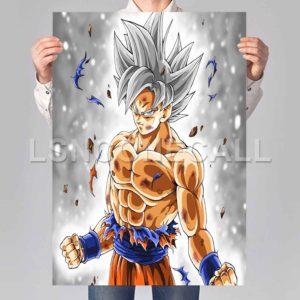 Goku Ultra Instinct DBS Poster Print Art Wall Decor